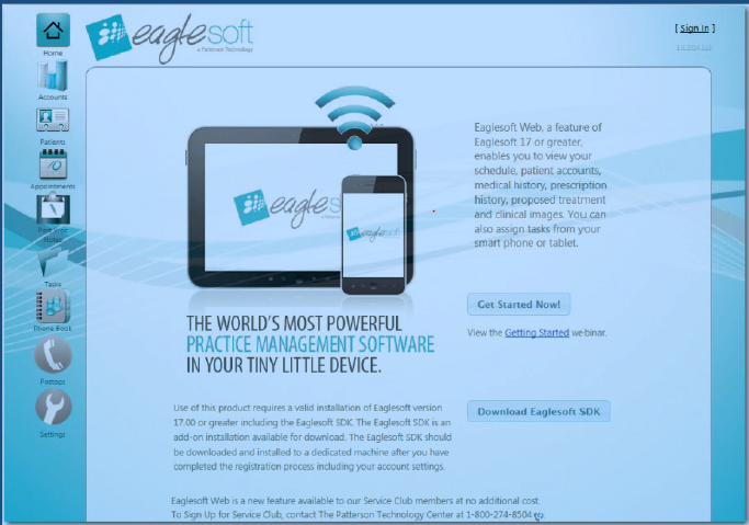 Eaglesoft Mobile Guide