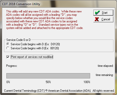 Cdt Dental Procedure Service Codes Utility Update