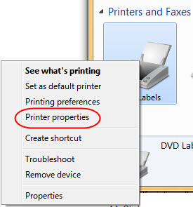 Dymo Printer Not Printing Labels Correctly