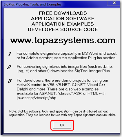 Topaz Signature Pad - Install/Uninstall Instructions and How